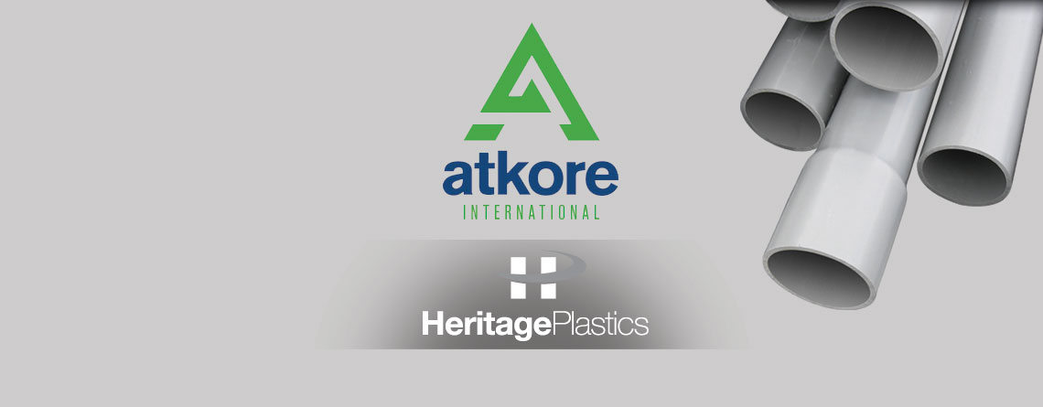 Atkore International Inc. Acquires Heritage Plastics